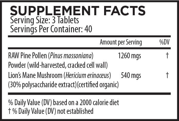 mountain-harvest-pine-pollen-and-lions-mane-tablets-supplement-facts.png