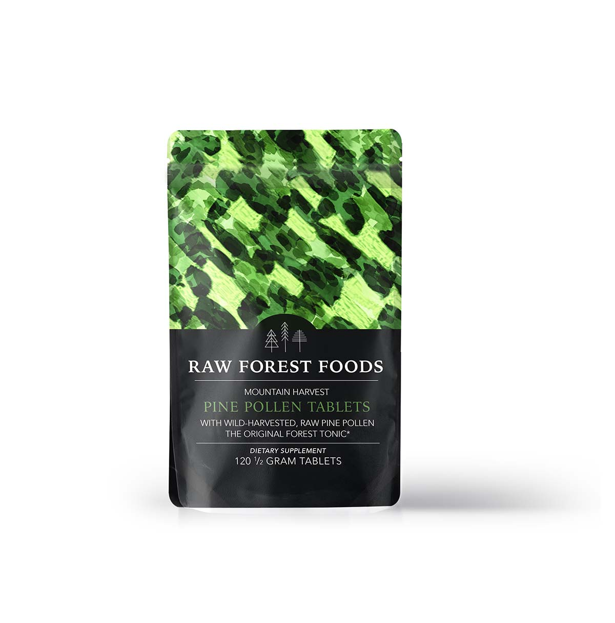 RAW Forest Foods Pine Pollen Tablets